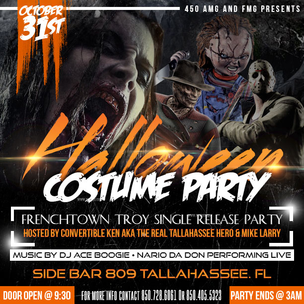 halloween flyer template psd debryne graphics